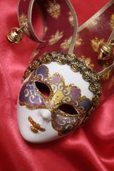 One venetian mask