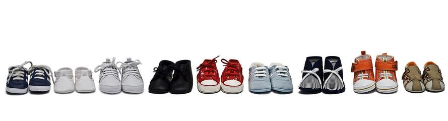 Colección de zapatos.