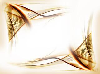 golden wavy motion