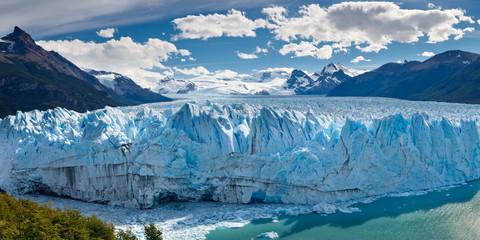 Lodowiec Perito Moreno, Patagonia, Argentyna - Panoramiczny widok