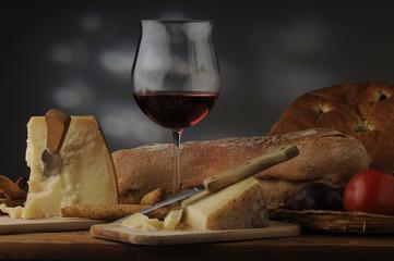 Pane e formaggio - Antipasti