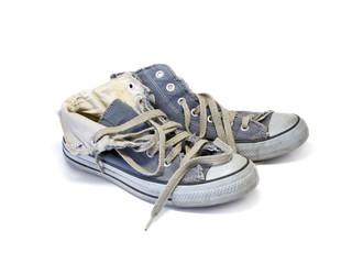 Vieilles chaussures basket 02