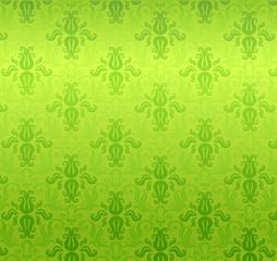 Green wallpaper pattern