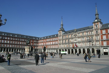 Madrid, plaza major