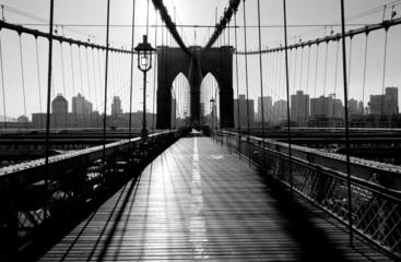 Most Brookliński, Manhattan, Nowy Jork, USA
