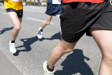 Marathon running sport competition