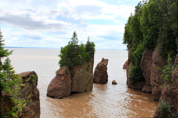 Hopewell Rocks, New Brunswick, Kanada