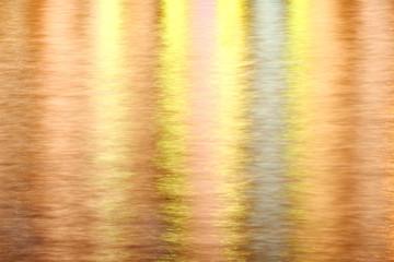 reflexion of the night city lights