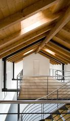 architettura moderna, attico vuoto