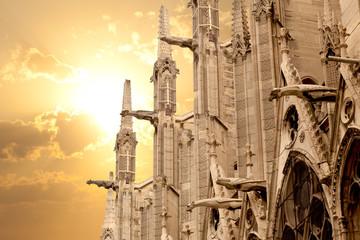 Notre Dame of Paris: North facade detail