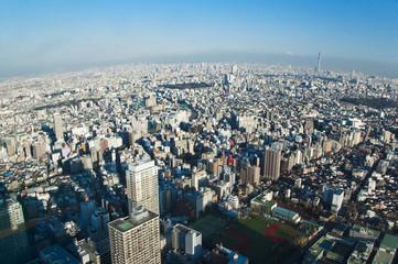 Tokyo, vue d'en haut - Japan