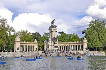 Denkmal von König Alfonso XII., Madrid