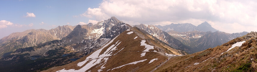 panorama kasprowy