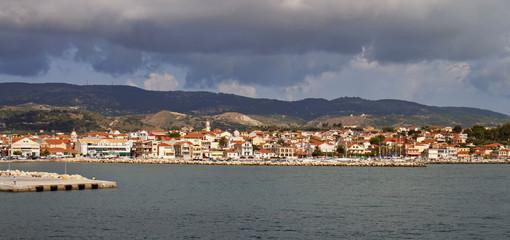 Lixouri city of Kefalonia island in Greece.