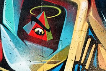 New World Order Graffiti