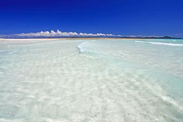 鮮やかな伊平屋の海