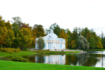 Grotto pavilion in Tsarskoe Selo