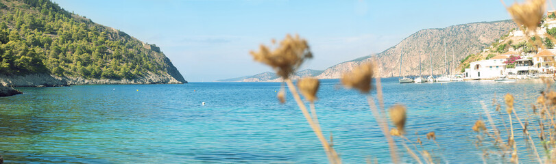 marine landscape of Kefalonia, Greece