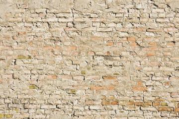 Zniszczone cegły