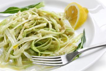 puntarelle alla romana, italian food