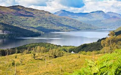Loch Lomond, Scotland from the Ben Lomond summit route