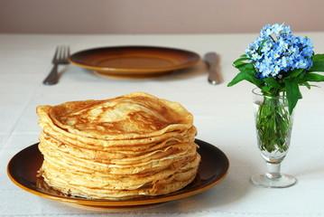 Naleśniki (cienkie pancakes)