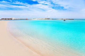 Els Pujols Formentera white sand turquoise beach
