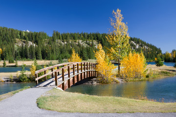 Autumn in Banff National Park, Alberta, Canada