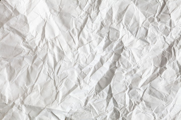 zaciskany arkusz tekstury białego papieru