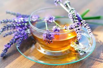 Lavendeltee