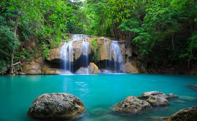 Wodospad Erawan, Kanchanaburi, Tajlandia