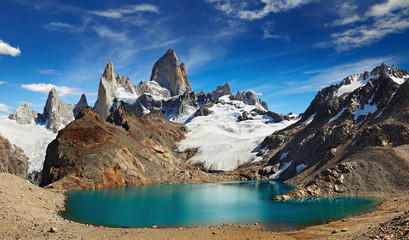 Mount Fitz Roy, Patagonia, Argentyna