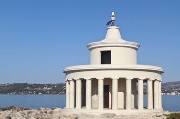 Lighthouse at Kefalonia island in Greece