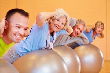 Rückentraining im Fitnesscenter