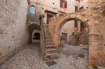 Trogir alley