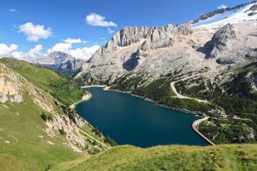 Dolomiti - Fedaia lake