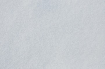 Powierzchnia śniegowa, świeży śnieg