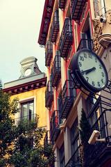 Classic Architecture in Postas Street, Madrid