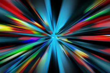 abstract night acceleration
