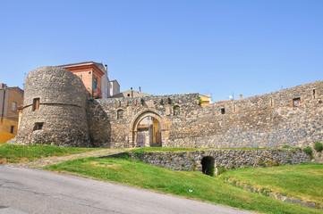 Porta Venosina. Melfi. Basilicata. Italy.