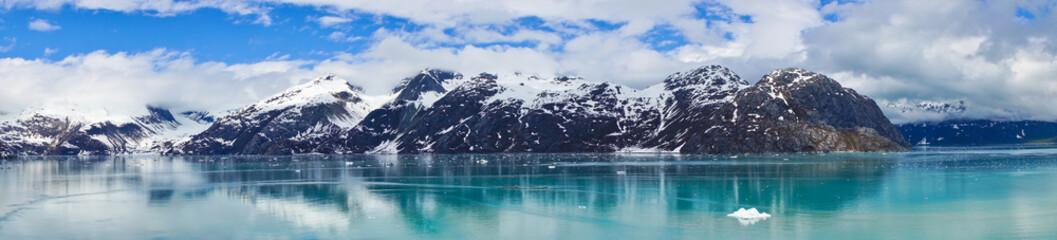 Beautiful panorama of Mountains in Alaska, United States