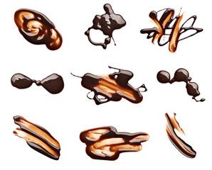 chocolate stain fleck food dessert