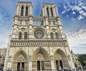 The Notre Dame Cathedral, Paris