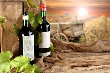 wine and farm