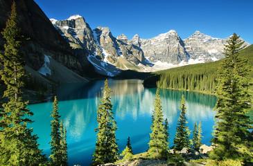 Jezioro Moraine, park narodowy Banff