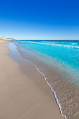 Menorca Platja de Binigaus beach Mediterranean paradise