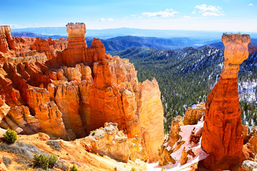 Bryce Canyon National Park landscape, Utah, US