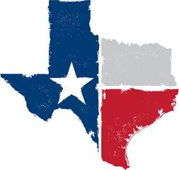 Vintage Texas State Artwork