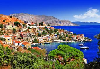 beautiful Greek islands - Symi, Dodecanese