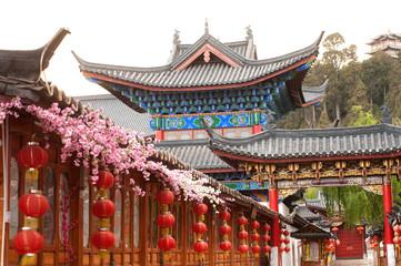 Historic town of Lijiang,UNESCO World heritage site.